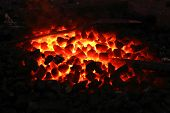 image of stone charcoal fire on bugle as abstract background high resolution high resolution high resolution
