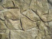 Masonry stone wall drawing