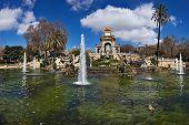 Parc de la Ciutadella fountain, Barcelona