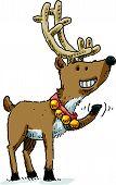 Waving Reindeer