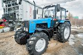 Tractor demonstration of Belarus production