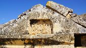 Ruins of ancient tomb in Hierapolis.