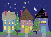 Homes At  Christmas Time.eps