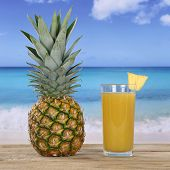 Pineapple Fruit And Juice Drink