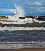 Big Waves At Grand Marais