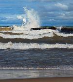 Big Waves At Grand Marais