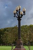 Street Light In Lukiskiu Square