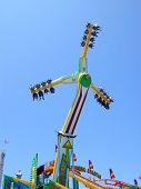 Amusement Park Pinwheel