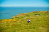 stock photo of breathtaking  - Breathtaking views from the Great Orme in Llandudno Gwynedd North Wales - JPG