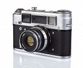 Old Analog Photo Camera