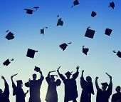 picture of graduation  - Celebration Education Graduation Student Success Learning Concept - JPG