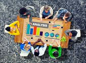 picture of analysis  - Analysis Analytics Bar graph Chart Data Information Concept - JPG