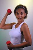 Beautiful Mature Black Woman Workout (1)