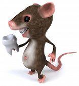 stock photo of gerbil  - Fun mouse - JPG