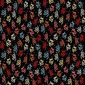 foto of confetti  - Spiral confetti for holiday design - JPG