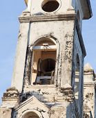 image of guadalupe  - Bell detail from Guadalupe Church at Granada Nicaragua - JPG