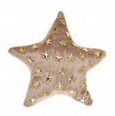 ������, ������: Plush brown star shaped pillow toy