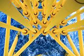 pic of offshore  - Oil and Gas Producing Slots at Offshore Platform - JPG