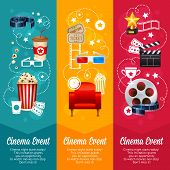Realistic Cinema Movie Poster Template poster
