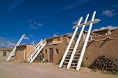 White Ladders In Sky City, The Acoma Pueblo