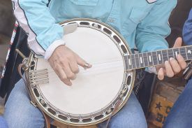 image of banjo  - The banjo is a four - JPG