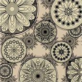 Постер, плакат: Искусство марочные шаблон