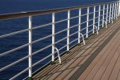 White Deck Rail