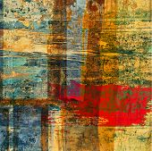 foto of abstract painting  - art abstract grunge graphic texture background - JPG