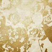 arte floral grunge gráfico background