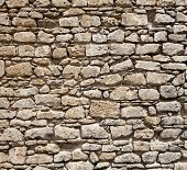 wall of stones as a texture ( photo )