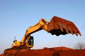 image of heavy equipment  - heavy earth moving equipment - JPG