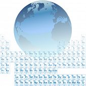 Scientific Earth is made of atoms with an accurate Periodic Table of the Elements.