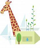 Para proteger a los animales de la fauna silvestre, restaurar su hábitat natural, prever suficiente bosque & agua, surviv