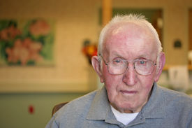 picture of fussy  - Nursing Home Portrait (serious look)