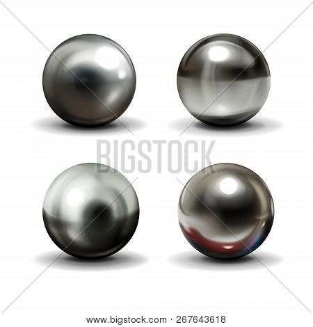 Set Of Steel Or Silver