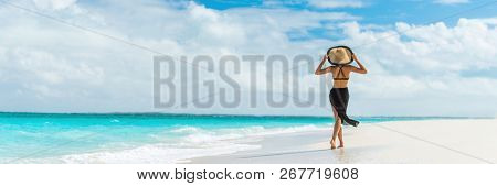 Luxury travel summer beach vacation