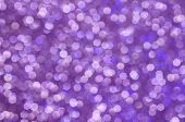 Purple, Sparkle, Glitter And Shine. Excellent Abstract Holiday Or Party Background. Celebrate Christ poster