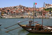 Sail Boat In Porto, Portugal