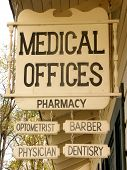 picture of medical office  - medical offices sign - JPG