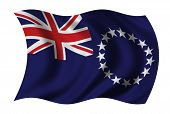 Flag Of The Cook Islands poster