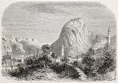 picture of salvatore  - Old illustration of Lugano - JPG