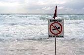 Danger! No Swimming