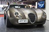 GENEVA - MARCH 7: Wiesmann MF4 GT on display at the 79th International Motor Show Palexpo-Geneva on