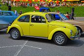 SCHWAEGALP - JUNE 27: The VW Beetle on the 7th International