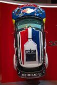 Genebra - 8 de março: Visualização de Citroen C3 Rally automóvel em 81 International Motor Show Palexpo-Gene