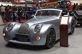GENEVA - MARCH 8: The MG Morgan Aero Supersports preview on the 81st International Motor Show Palexp