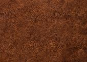 Dark Texture Of Brown Leather Is Coarse, The Look Of Genuine Leather poster
