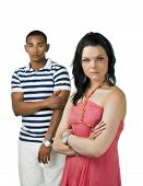 Unhappy Couple With Focus On Woman