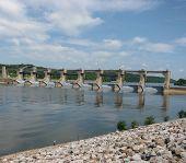 Dam On Ohio River