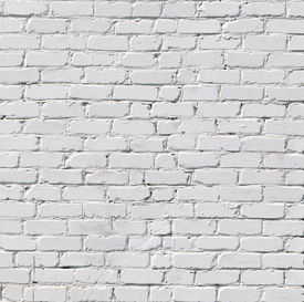 foto of stone floor  - A white brick wall - JPG